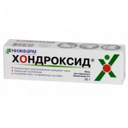 Хондроксид, гель д/наружн. прим. 5% 30 г №1